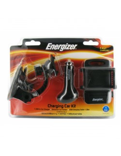 Energizer Kit Auto Blackberry/HTC/Motorola