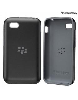 Carcasa silicon premium neagra Blackberry Q5