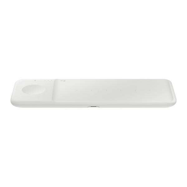Incarcator Wireless Trio Samsung Alb