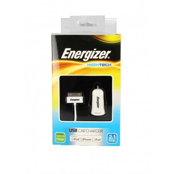 Incarcator auto Energizer Hightech 1USB 2A Iphone 4/4S