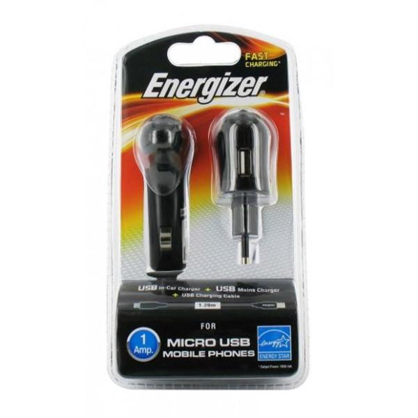 Incarcator Energizer 2in1 1USB 1A MicroUSB
