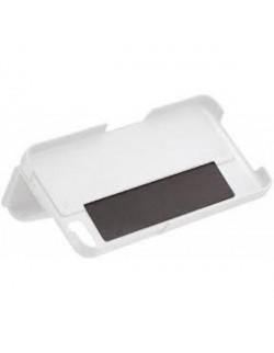 Carcasa cu capac piele alba Blackberry Z10